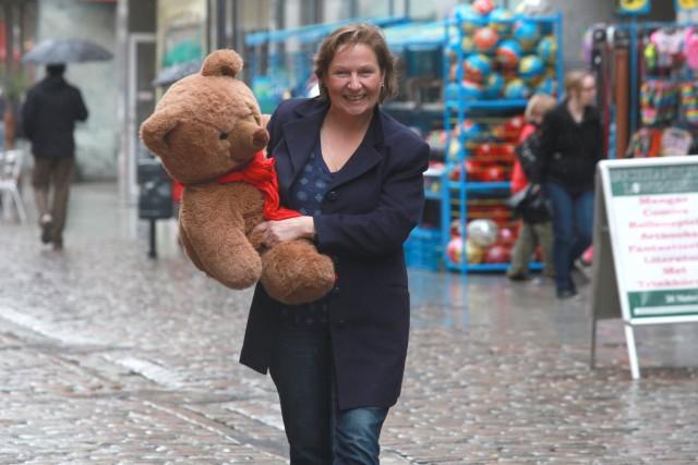 Wir sammeln beglückende Erlebnisse, der Bärenben und ich. Foto: Paul van Schie