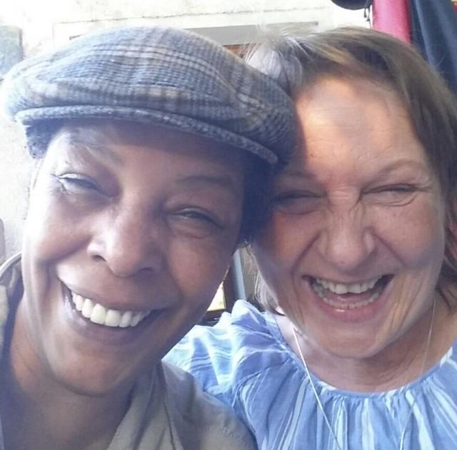 Selfie-Fun und ungeschminkte Wiedersehensfreude. Foto: Privat